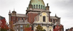 eglise de saint christophe a charleroi en belgique
